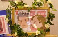 結婚式の手作りウェルカムボード