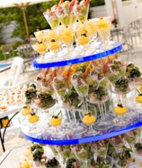 結婚パーティ形式&参加型の場合の料理演出