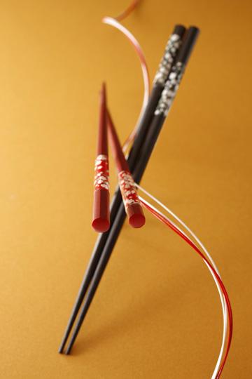 箸流「和紙桜 八角楽咲き」