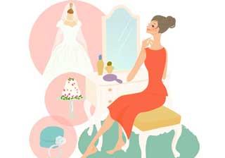 0842e5d1df3f5 結婚式当日は少し早めに起きて心の準備をします。心がけたいのは朝食をきちんととること。食べて行けなかった場合には、身支度の合間に簡単につまんで食べられるような  ...