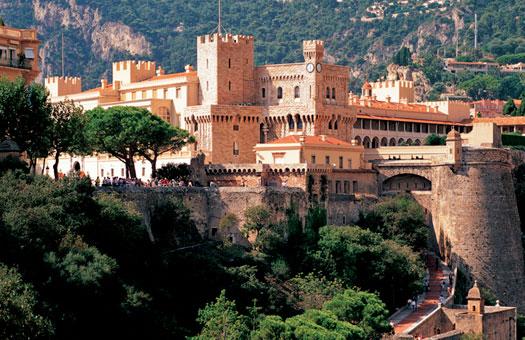 モナコの大公宮殿