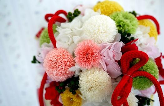 会場装飾を和テイストの装花でコーディネート ぐるなびウエディングhowto