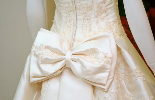 手作りウエディングドレス