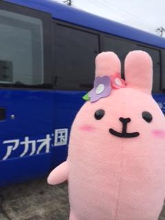 伊豆駅からはらくらく、シャトルで移動