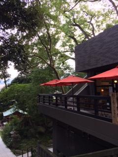 来宮神社オープンカフェ
