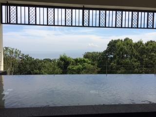 川奈ホテル 露天風呂からの見晴らしも最高です♪
