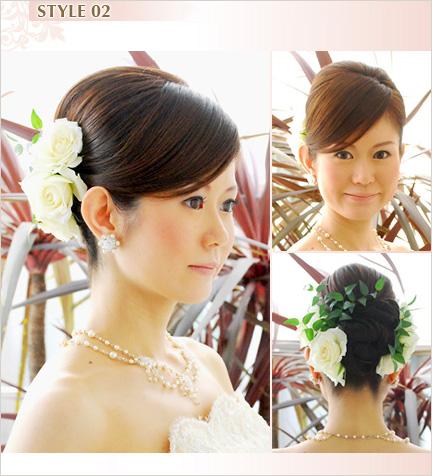 華のある花嫁に 上品クラシカルスタイル