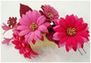 お花のアクセサリー 和婚のヘアアクセサリー