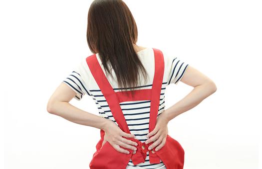 ママたちの肩こり、腰痛対策