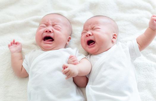 双子の妊娠出産と産後育児