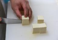 島豆腐の下処理