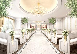 【リーガロイヤルホテル東京】4階 チャペル「カナホール」2017年9月15日(金) リニューアルオープン~緑豊かなバルコニーガーデンとチャペルが誕生~