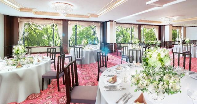 リーガロイヤルホテル東京の新宴会場