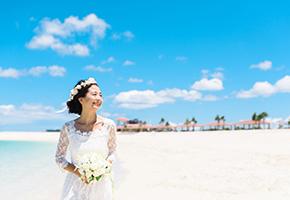 沖縄は国内リゾートウェディングで一番人気の土地