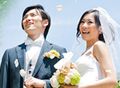 軽井沢でリゾート結婚式