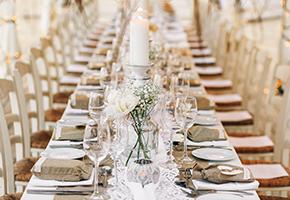 結婚式の会場における特色