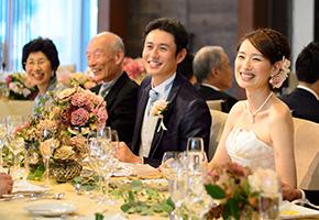 親族と親しい友人だけの結婚式の服装(30人規模のウエディング)