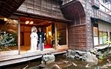 料亭の結婚式