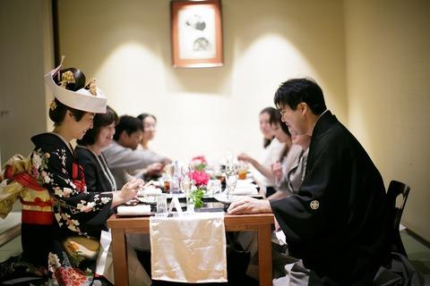 お食事だけのご会食から宴内挙式まで幅広くご提案 少人数だからこそ伝わるたくさんの想いをのせて料理から会話が広がるアットホームな一日をお手伝い致します