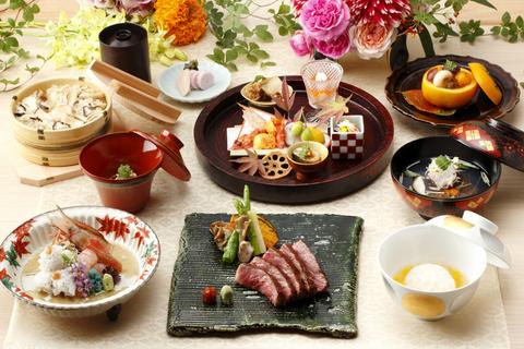 四季折々の旬の食材を使用して作り上げる京会席料理