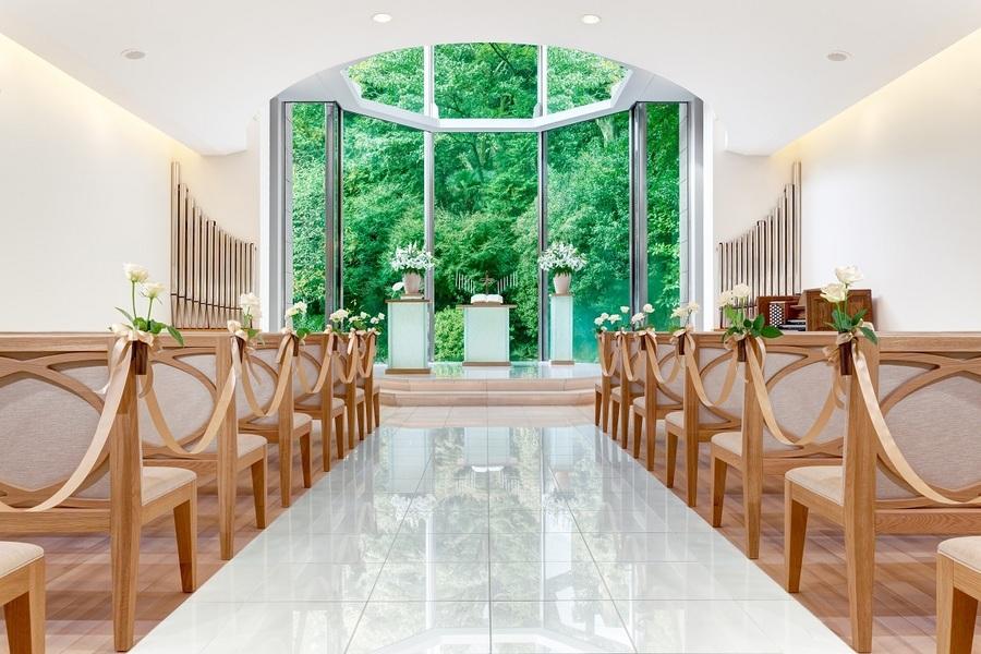 ホテル椿山荘東京 挙式 『ルミエールチャペル』
