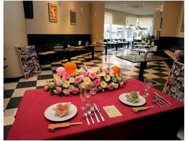 大宮 ブッフェ ウェディングパーティー レストラン スクエアの画像