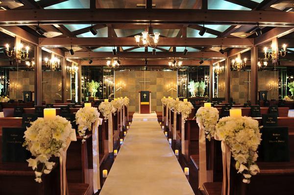 ウエストシティホール&ウエディングアイ チャペル 結婚式