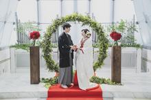 west53rd日本閣オリジナル和装人前式「ツナグ婚」が人気