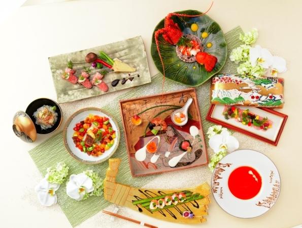 west53rd日本閣 結婚式 お料理でおもてなし
