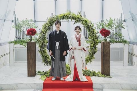 念願の和装で誓う人前式「TSUNAGU婚」