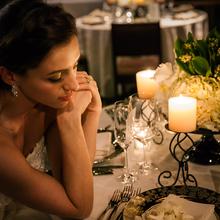 ロマンチックなパーティを楽しめるウィンターウェディング