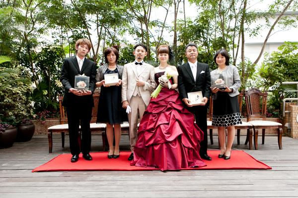 家族写真☆記念撮影