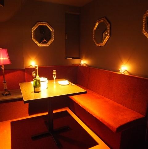 雰囲気の良い個室でお食事可能☆
