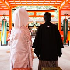 吉田神社での挙式