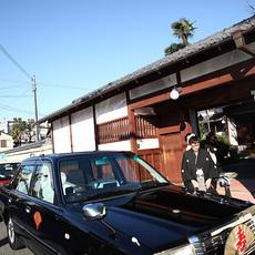挙式神社へ出発