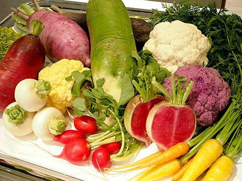 三浦野菜や鎌倉野菜を使用しゲストをおもてなし