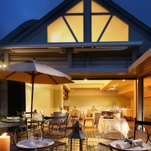 全天候型ガーデンテラス付き個室