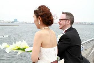 横浜の海とみなとみらいの絶景を一望できる絶景のロケーション
