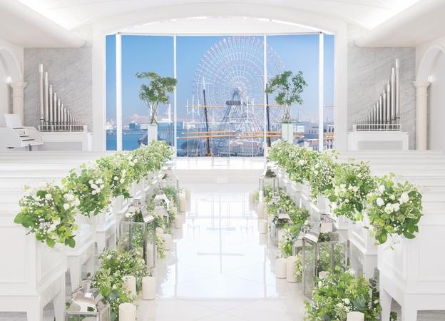 「みなとみらい」の結婚式場なら「メルヴェーユ」