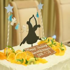 オリジナルウェディングウェディングケーキ