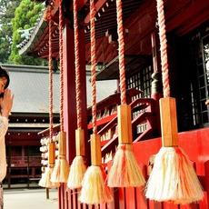 箱根神社でお参り