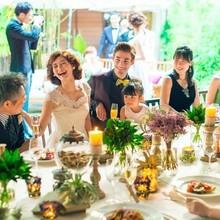 大切な家族と開放的な雰囲気でアットホームな時間を過ごせます