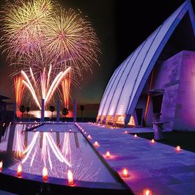 ゲストが感動!夜空を彩る打ち上げ花火