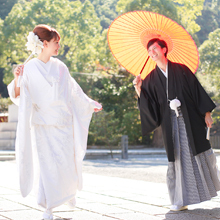小倉祇園太鼓の舞台「八坂神社」での挙式もOK!