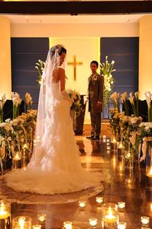 人気のファミリアマーノチャペルで結婚式