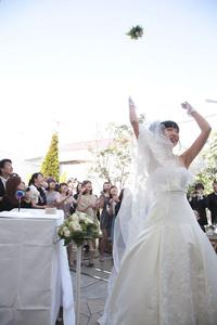 鎌倉 結婚式 挙式 チャペルレストラン ブーケトス