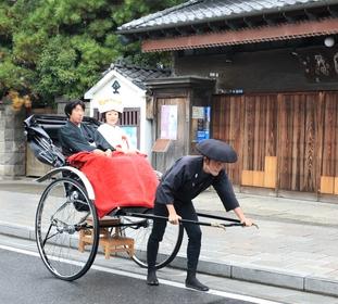 鎌倉 結婚式 鶴岡八幡宮 神前式 レグリーズ 人力車