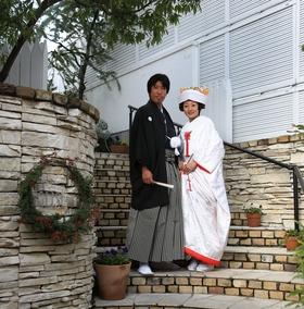 鎌倉 結婚式 鶴岡八幡宮 和装 和服 レグリーズ 披露宴