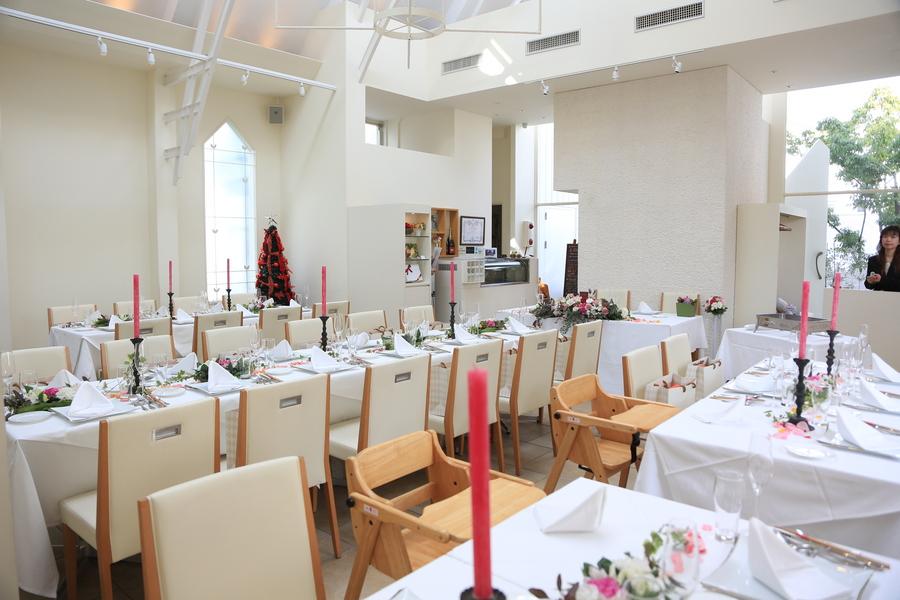 鎌倉 結婚式 レグリーズ 披露宴 クリスマス 季節限定