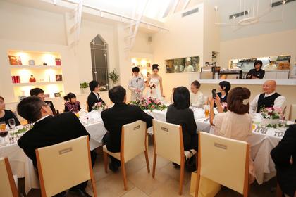 鎌倉 結婚式 レストラン 会食 食事会 レグリーズ